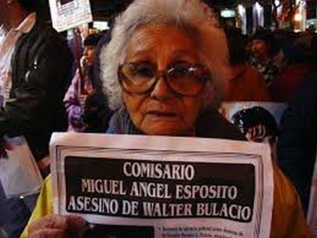 María Ramona Armas de Bulacio- Abuela de Walter Bulacio