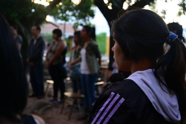 Primer dia de clases en Ñanderoga (Fuente: Prensa Ñanderoga / Analia Cid)