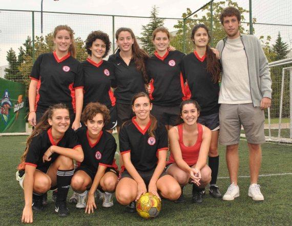 El equipo de Río Colorado. / Fuente: Rita Carrizo