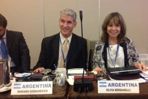 Representantes argentinos en el Comité para la Eliminación de Todas las Formas de Discriminación contra las Personas con Discapacidad (CEDDIS)