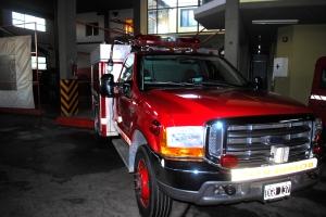 Cuartel de bomberos voluntarios de Arrecifes. Eugenio García Blanco/Agencia Tao.