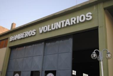 Cuartel de bomberos voluntarios de Arrecifes. Eugenio García Blanco/Agencia Tao