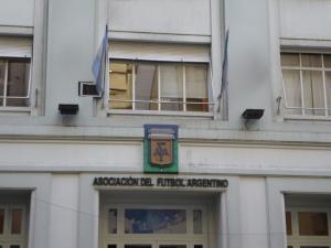 Sede de la AFA, ubicada en Viamonte 1366, CABA - Agencia TAO