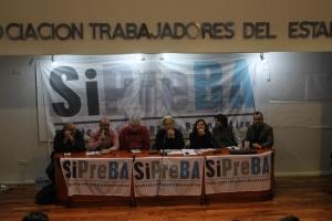 SiPreBa, sindicato que surge de la ruptura con UTPBA. Foto: Agencia Tao